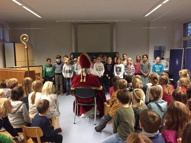 Nikolausfeier am 06. Dezember 2017