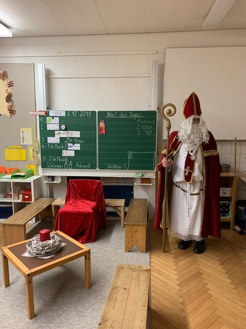 Der Nikolaus war da …