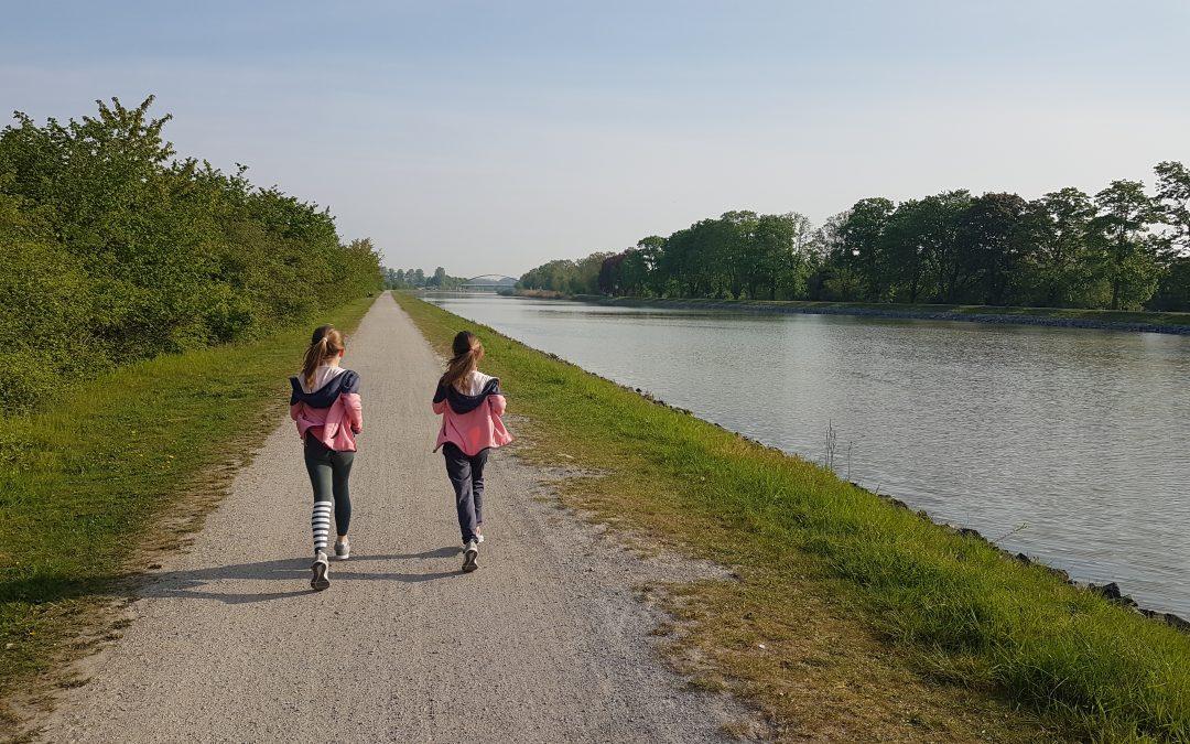 Wir joggen weiter …
